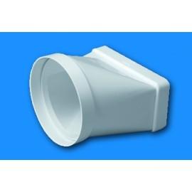 Manguito Extraccion/Aire Tubo Mixto Blanco 520 Tubpla