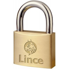 Candado Seguridad  25Mm Arco Corto Llave Nº 3379 Laton Lince