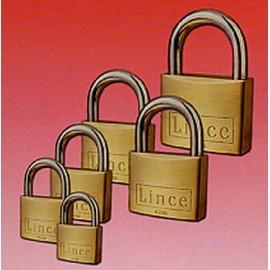 Candado Seguridad  40Mm Arco Corto Llave Nº 3381 Laton Lince