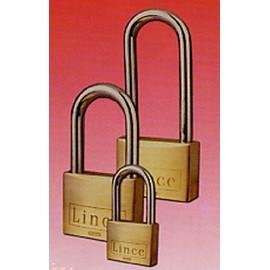 Candado Seguridad  50Mm Arco Largo Llave Nº 3389 Laton Lince