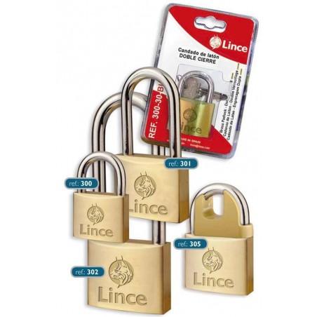 Candado Seguridad  50Mm Arco Extra Largo Laton Laton Lince