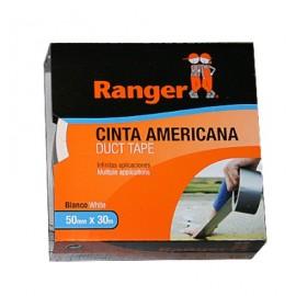 Cinta Adhesiva 50Mmx 30Mt Americana Blanco Ranger