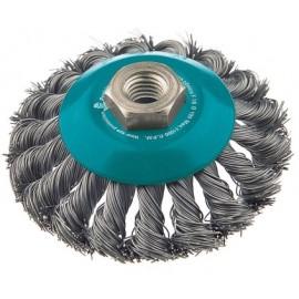 Cepillo Industrial Conico Amoladora 100 Mm Al.Trenz Fecin
