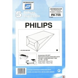 Bolsa Aspirador Papel Philips Thogar 5 Pz 910705