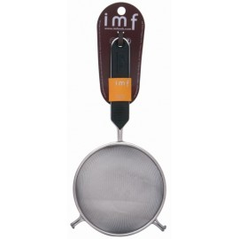 Colador Cocina Media Bola 12Cm Mango Aislante Inox Imf