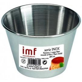 Flanero Resposteria Liso 08Cm Inox Imf