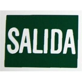 Placa Señal Adhesiva 297X210Mm Salida Poliestileno