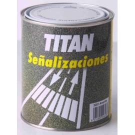Pintura Suelo Señalizacion 4 Lt Blanco Titan