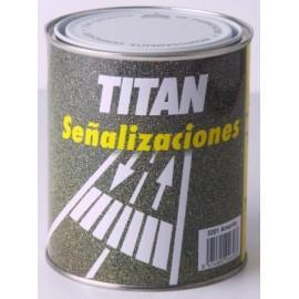 Pintura Suelo Señalizacion 750 Ml Blanco Titan