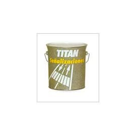 Pintura Suelo Señalizacion 750 Ml Amarillo Titan