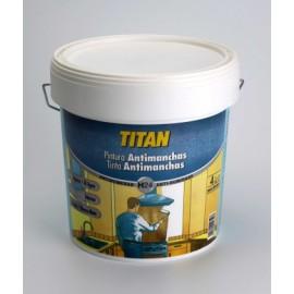 Pintura Antimanchas 750 Ml Blanco Mate Agua Titan