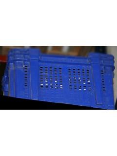 Contenedor Mult 60X80 Cm Con Tapa San Antonio Plastico Azul 9621