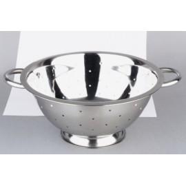 Escurridor Cocina Verduras 24Cm Con Pie Inox Ibili