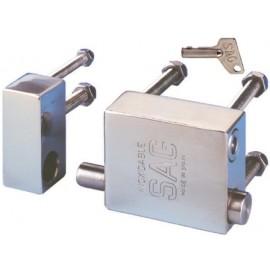 Candado Seguridad  Cable Furgoneta Inox Inox Sag