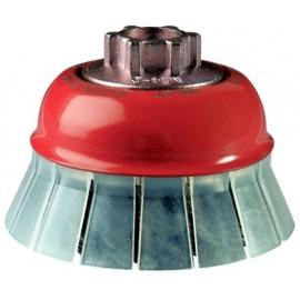 Cepillo Industrial Taza Amoladora 075 Mm / 0,5 Mm Alambre Trenzado Jaz