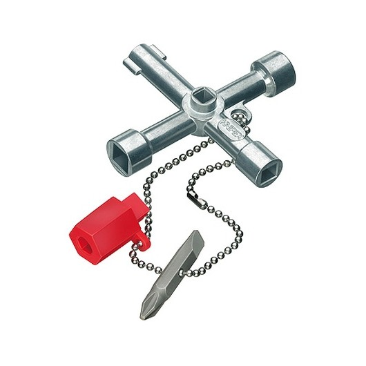 Llave Fontanero Cabina Control Gas-Agua-Electricidad Knipex