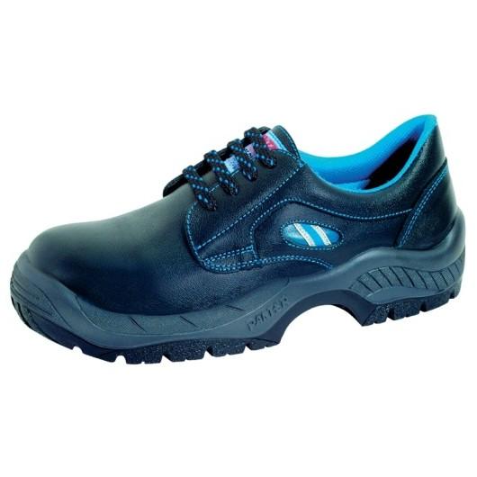 Zapato Seguridad T42 S2 Pu-Tpu Pun.Plas Diamante Pl Piel Panter