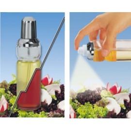 Vinagrera Cocina Aceitera Spray Cristal/Inox Fackelman