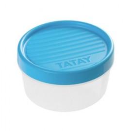 Hermetico Alimentos Redondo 0,5Lt Con Rosca Lavanda Plastico Tatay