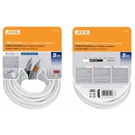 Cable Antena 5Mt Coaxial Axil 19 Vatc Ca 0707E 5 Mt