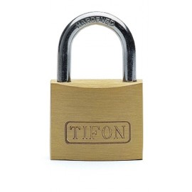 Candado Seguridad  60Mm Arco Corto Laton Tifon Ifam