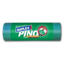 Bolsa Basura 55X60 Cm Antibacterias Plastico Verde SaPlasticoex 15 Pz