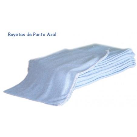Bayeta Limpieza Taller Azul Rincon 12 Pz