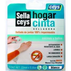 Cinta Hogar Selladora 3,35Mtx22 Mm Ceys