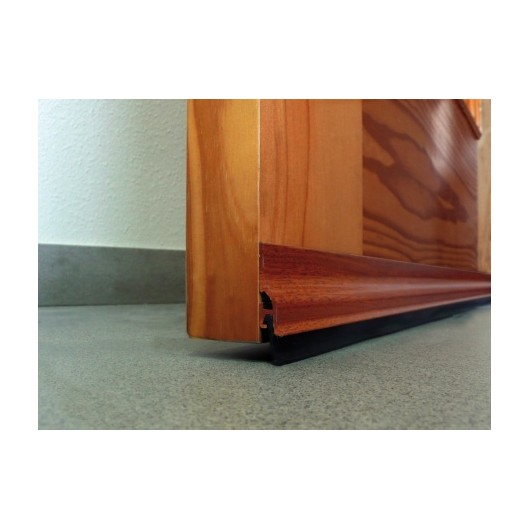 Burlete Bajo Puerta 105Cm Adhesivo Labio Aluminio Sapelly Burcasa