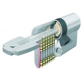 Cilindro Seguridad  30X40Mm T65D3040L Laton Seguridad uridad T60D Tesa