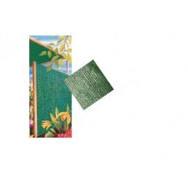 Malla Ocultacion 2X5Mt  Polietileno Verde