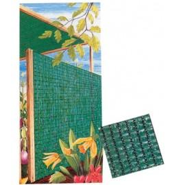 Malla Ocultacion 2X50Mt  Polietileno Verde