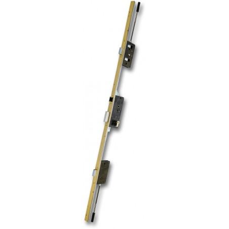 Cerradura Seguridad Madera Embutir 25X50 E2000/3Ds15 Aluminio Fr.U Ezcurra