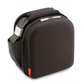 Bolsa Porta Alimentos 2Hermeticos  Lunch Bag Negro Poliester Valira