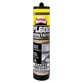 Adhesivo Montaje Agarr Exterior/Interior 300 Ml Interior/Exterior Resiste al Agua Pl600 Cart P