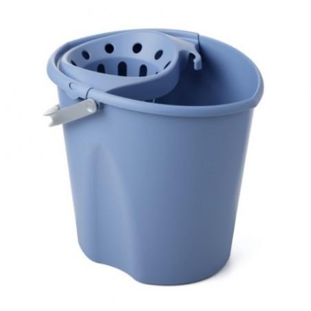 Cubo Agua Con Escurridor Tatay Azul Oval 10330