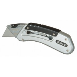 Cutter Profesional  145Mm Total Hoja Trapezoidal Metal Quick Slide Stanley