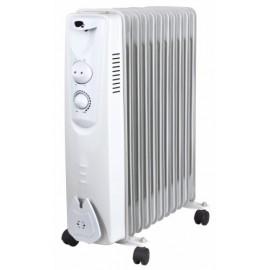 Radiador Electrico Aceite 11 Elementos 2500W 2500W Vivahogar