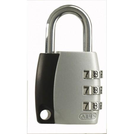 Candado Seguridad  30Mm Combinacion Programable Gris Abus