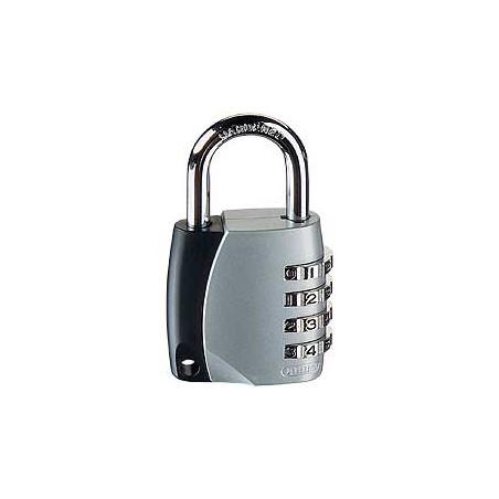 Candado Seguridad  40Mm Combinacion Programable Gris Abus