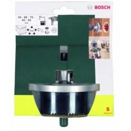 Corona Perforadora   Madera/Pladur 60-68-75-83-92Mm 32Mm Bosch 5 Pz