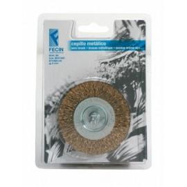 Cepillo Industrial Circular Taladro 075X0,3 Mm Acero/Latonado Fecin