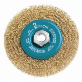 Cepillo Industrial Circular Amoladora 115X0,3 Mm Plano Acero/Latonado Fecin