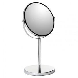 Espejo Baño Aumento 3 17Cm Con Pie Crom Tatay