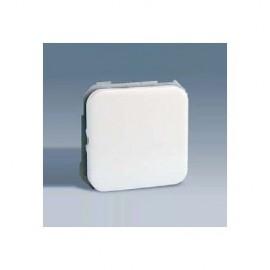 Interruptor Electricidad Empotrar Unipolar Blanco/Niquel Serie 31  Simon