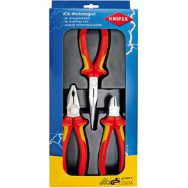 Alicate Electricista 1000V Knipex 3 Pz