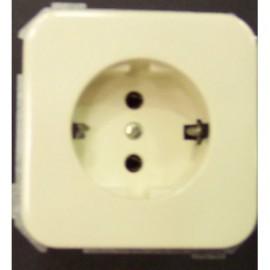 Base Enchufe Electricidad Schuko Toma tierra Marfil Serie 31 31432-61 Simon