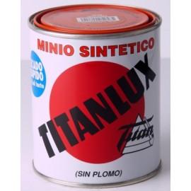 Minio Sin Plomo Sintetico 750 Ml Naranja Titan
