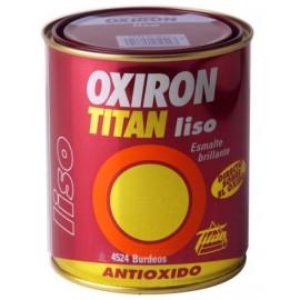 Esmalte Antioxidante Brillante  4 Lt Negro  Exterior Oxiron Titan