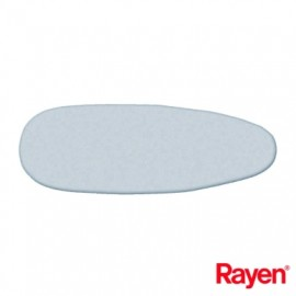 Funda Tabla Planchar 130X45Cm Ajuste Clip Algodon /Aluminio Gris Rayen
